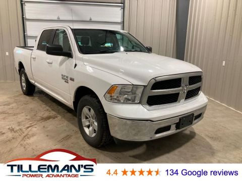 Pre-Owned 2019 Ram 1500 SLT 4WD 4 Door Cab; Crew; Long Bed