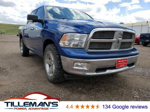 Pre-Owned 2010 Dodge Ram Pickup 1500 SLT 4WD 4WD Crew Cab 140.5