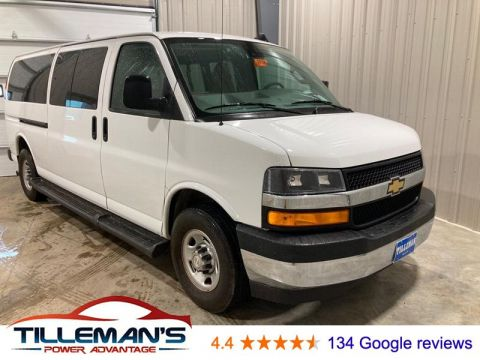 Pre-Owned 2019 Chevrolet Express 3500 LT RWD Full-size Passenger Van