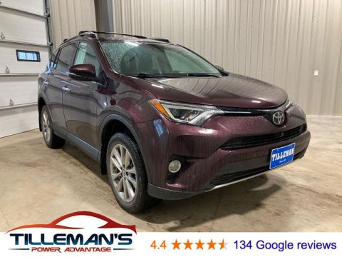Pre-Owned 2016 Toyota RAV4 Limited 4WD Sport Utility