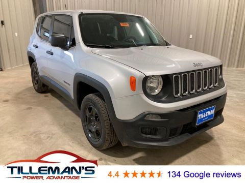 Pre-Owned 2018 Jeep Renegade Sport 4WD Sport Utility